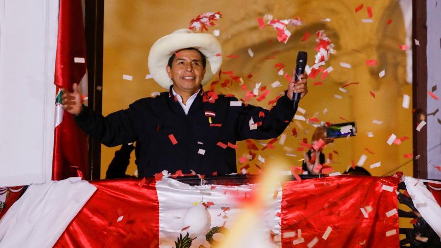 Castillo foi apontado como vencedor, mas aguarda anúncio oficial - Sebastian Castañeda/Reuters