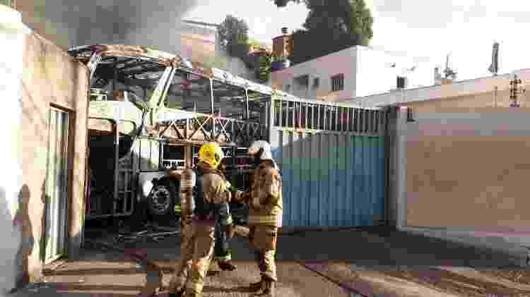 Incêndio Belo Horizonte  - Divulgação Corpo de Bombeiros Militar de Minas Gerais - Divulgação Corpo de Bombeiros Militar de Minas Gerais
