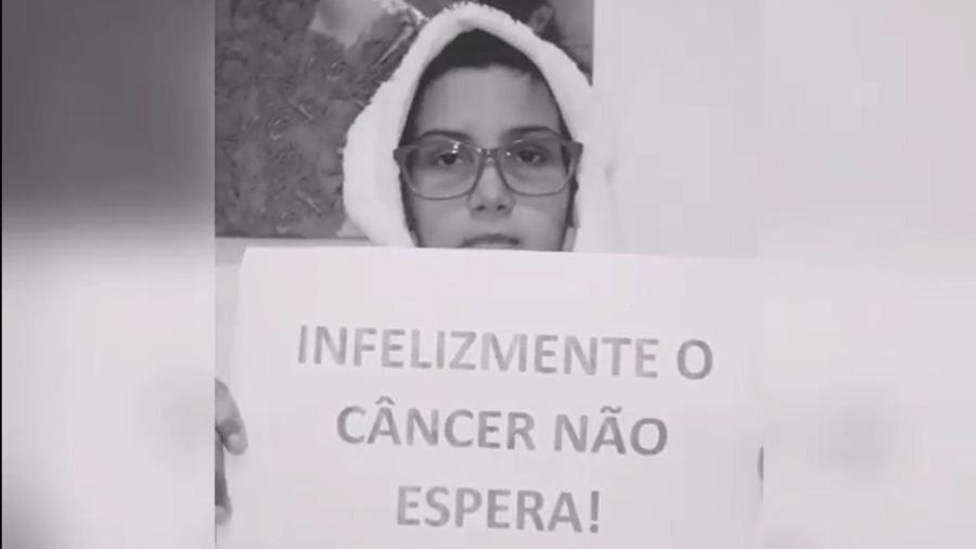Yasmin terá de viajar aos EUA para realizar o tratamento - Reprodução/Instagram