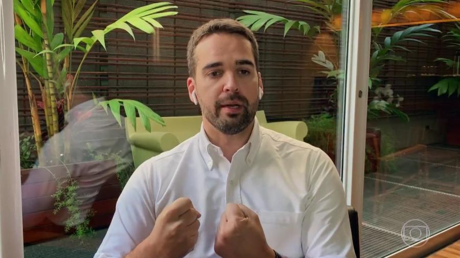 O governador do Rio Grande do Sul, Eduardo Leite (PSDB) - Reprodução/TV Globo