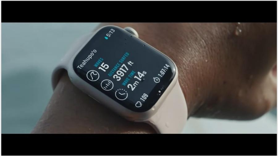 14.set.2021 - Relógio Apple Watch Series 7 - Reprodução