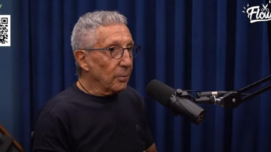 Abílio Diniz em entrevista ao podcast Flow; empresário disse que tinha certeza que morreria durante sequestro - Reprodução/Flow/Youtube