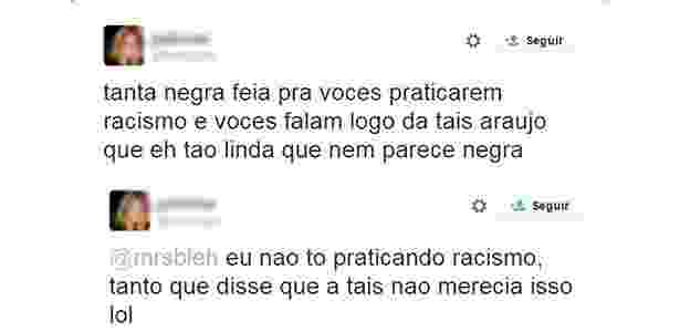 Preconceito Taís Araújo - Reprodução/Facebook - Reprodução/Facebook