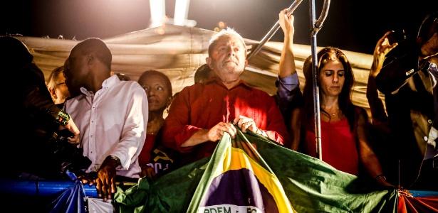 Ex-presidente Lula participou de ato na Paulista que reuniu 95 mil pessoas na avenida Paulista