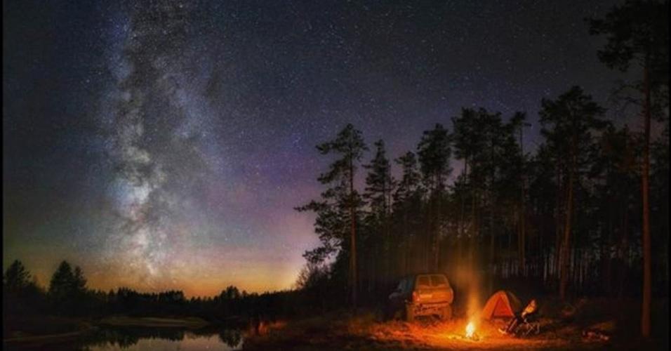 28.jun.2016 - Essa foto de Boris Dmitriev, da Rússia, usa como pano de fundo o céu e a natureza da região central do país