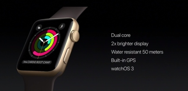 caf60ed6ecc Novo Apple Watch Imagem  Reprodução