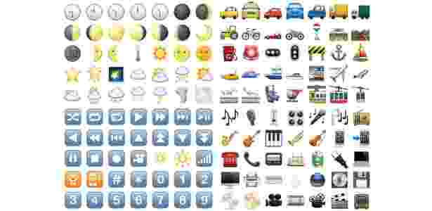 27.out.2016 - Emojis na atualidade - Divulgação - Divulgação
