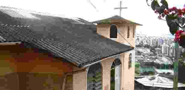 Vista do morro da igreja Nossa Senhora do Mont Serrat, em Florianópolis - Divulgação