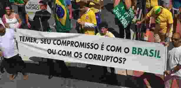 protesto ayres  - Divulgação/Vem Pra Rua Brasil - Divulgação/Vem Pra Rua Brasil