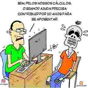 8.dez.2016 - Reforma da Previdência vira piada nas redes sociais - Reprodução/Twitter