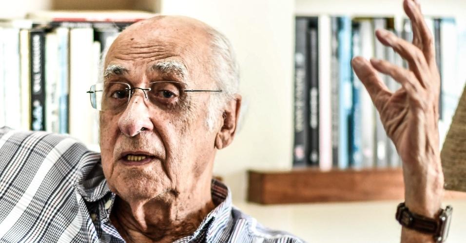 """Zuenir Ventura, jornalista e escritor, é autor dos livros """"1968, o Ano que Não Terminou"""" e """"20 Anos Depois: O que Fizemos de Nós"""""""