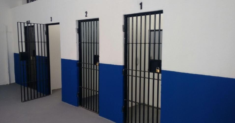 Atualmente, o pavilhão 3, único reformado e que está em funcionamento em Alcaçuz, abriga 357 detentos