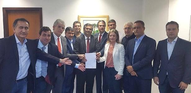 Nove governadores e três senadores foram impedidos de visitar Lula - Reprodução/Twitter/Guimarães13PT