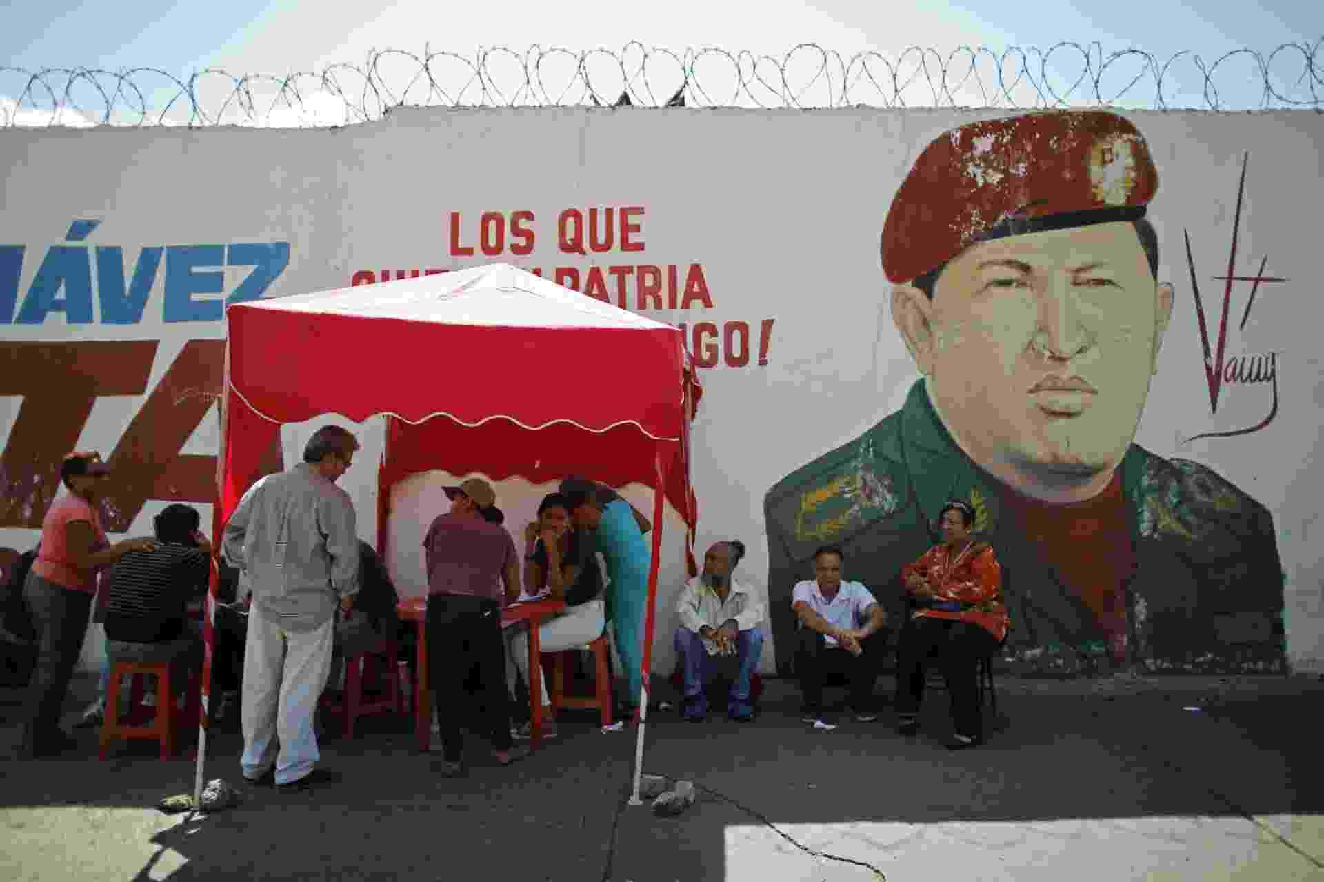 20.mai.18 - Eleitores votam em Caracas, Venezuela - Ariana Cubillos/STF