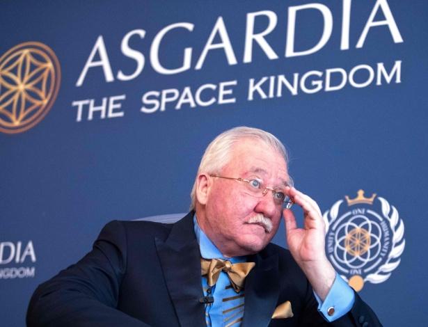 O cientista russo e empresário Igor Ashurbeyli assume a presidência da Asgardia - Alex Halada/AFP