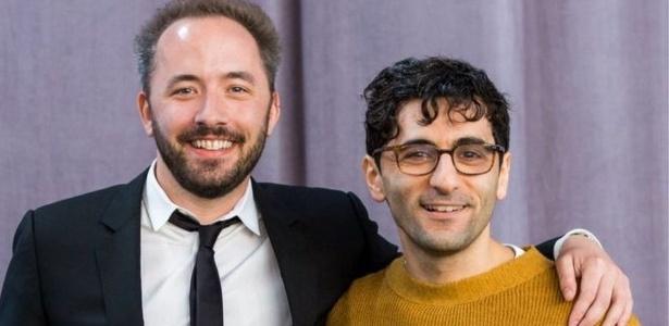 Drew Houston e Arash Ferdowsi, fundadores do Dropbox