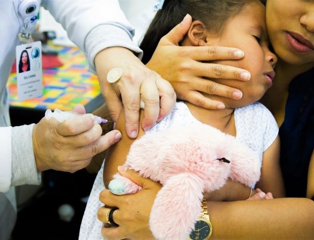 Segundo informações divulgadas pelo Ministério da Saúde, são 1.579 casos de sarampo confirmados em todo país, sendo 1.232 destes apenas no Estado do Amazonas - Adriana Toffetti/Estadão Conteúdo