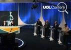 Em debate, presidenciáveis erram dados econômicos (Foto: Nelson Almeida/AFP)