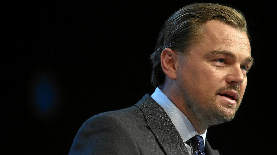 Leonardo Di Caprio no Fórum Econômico Mundial, em 2016 - Divulgação