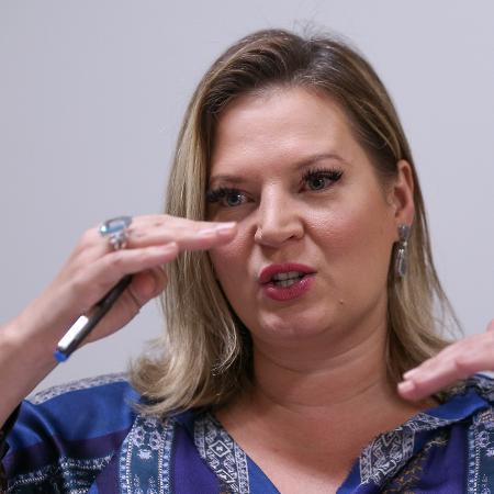 A líder do governo no Congresso, deputada Joice Hasselmann (PSL-SP) - Pedro Ladeira/Folhapress