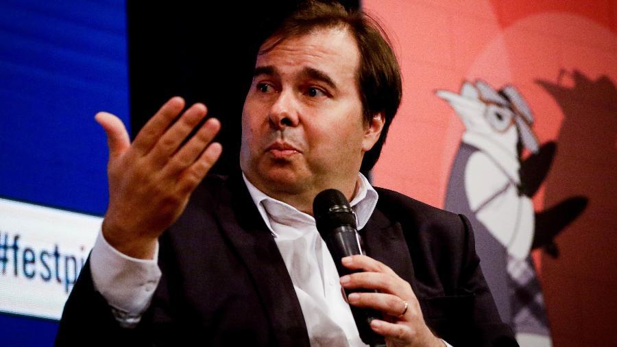 Presidente da Câmara, Rodrigo Maia - Aloisio Mauricio /Fotoarena/Folhapress