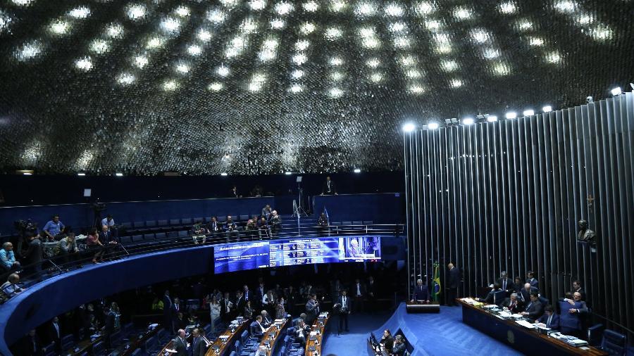 Sessão no Senado - EDU ANDRADE/FATOPRESS/ESTADÃO CONTEÚDO