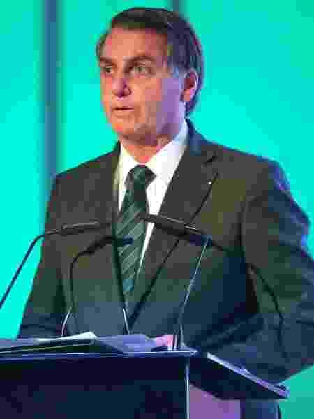 O presidente da República, Jair Bolsonaro - AFP