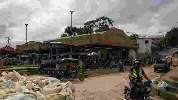 Sinais de confronto vêm se acumulando entre etnias indígenas na região e pescadores e caçadores da região de Atalaia do Norte, no Amazonas, cidade que tem o terceiro pior IDH do país - Bruno Kelly/Amazonia Real