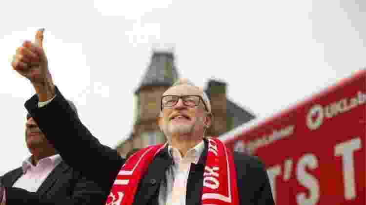 Jeremy Corbyn condenou diversas vezes o antissemitismo - EPA