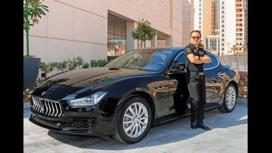 Homem ganha Maserati durante passeio no shopping - Reprodução