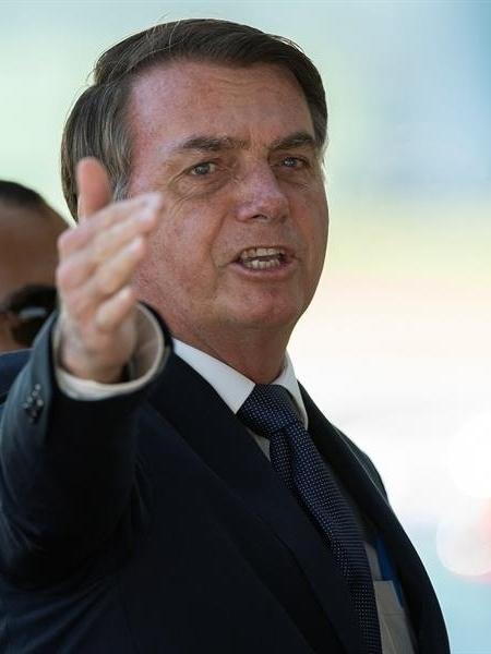 O presidente Jair Bolsonaro - Joedson Alves/EFE