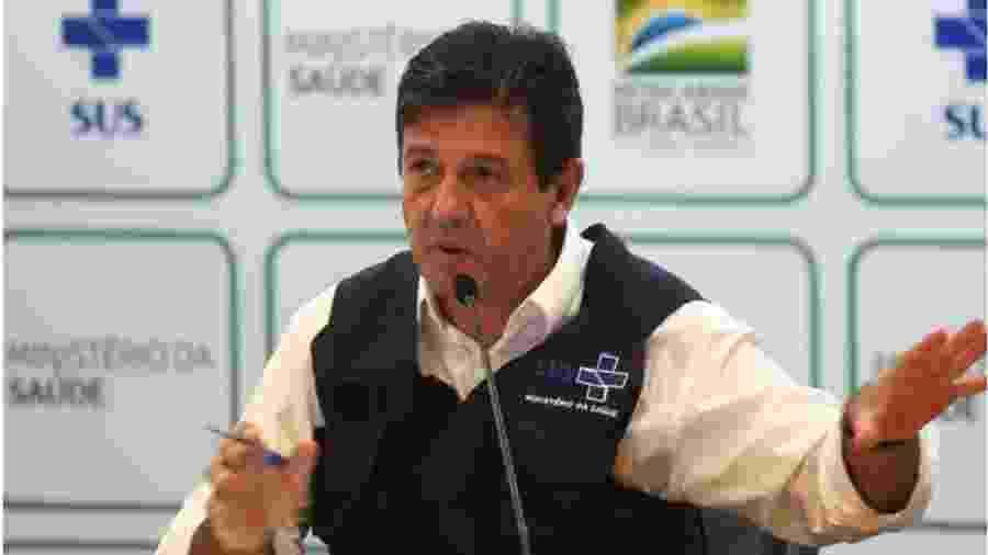 Ministro da Saúde, Luiz Henrique Madetta: Bolsonaro decidiu atuar firmemente para ver se pede demissão. Acusação: excesso de eficiência. Nesse governo, pode ser uma coisa muito perigosa - Foto: Foto: Marcello Casal/ Agência Brasil