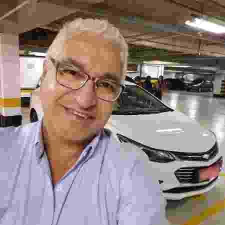 O taxista Lenildo Guerreiro parou de trabalhar no início da quarentena em São Paulo - Arquivo pessoal - Arquivo pessoal