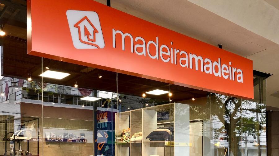 Fachada de loja da MadeiraMadeira - Divulgação
