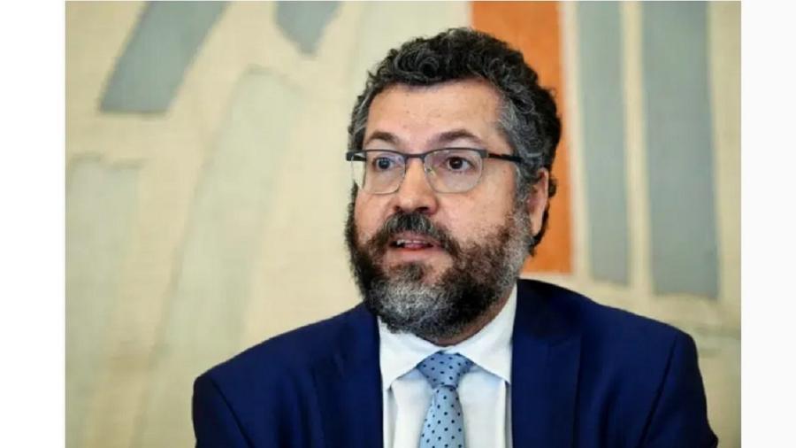 O ex-ministro de Relações Exteriores, Ernesto Araújo - AFP