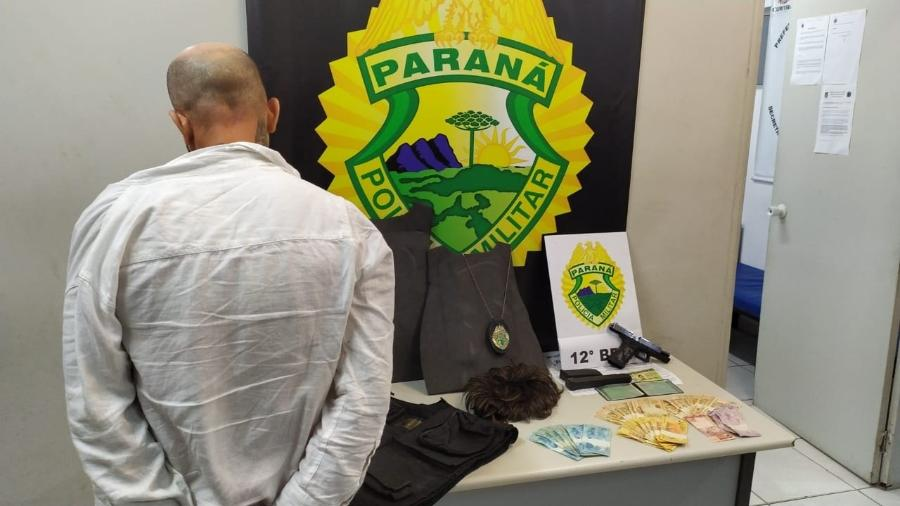 Chefe do PCC no Paraná foi localizado em um restaurante de luxo - PMPR/Divulgação