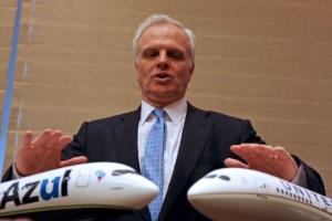 Fundador da Azul ultrapassa fortuna de US$ 1 bi com ida da empresa à Bolsa (Foto: Paulo Whitaker/Reuters)