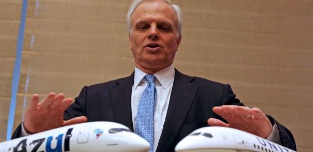 David Neelaman é fundador e controlador da companhia aérea Azul - Paulo Whitaker/Reuters