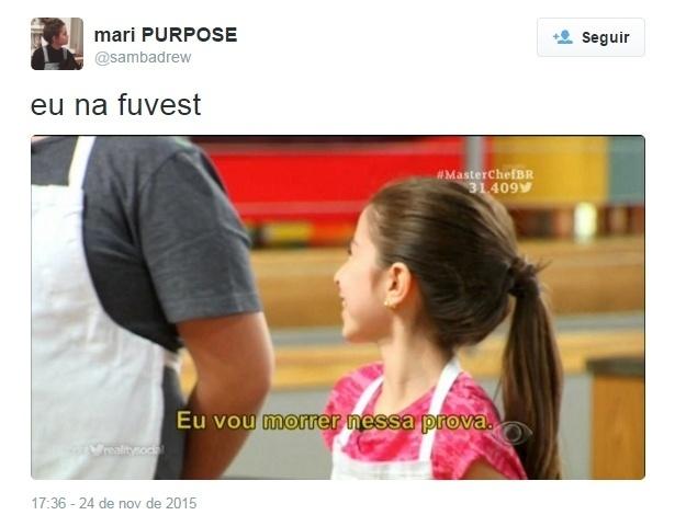 25.nov.2015 - Aproximação da prova da Fuvest vira piada nas redes sociais