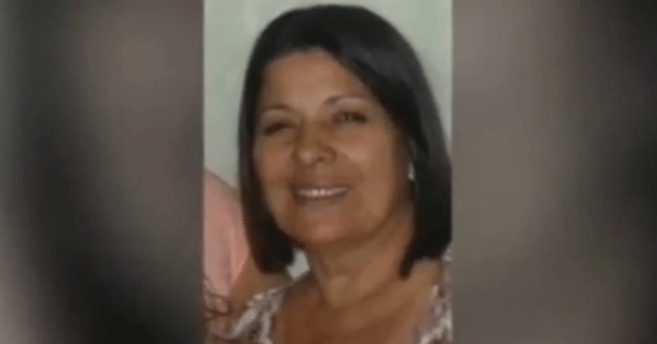 25.dez.2015 - Professora Maria da Conceição Vieira Duarte, assassinada na noite de Natal em um semáforo em Praia Grande, no litoral de São Paulo