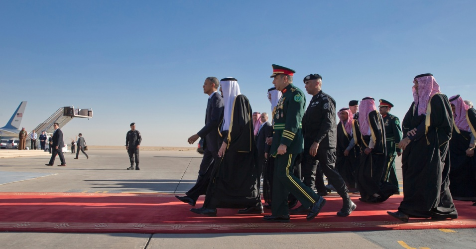 Visita de Barack Obama ao rei saudita Salman bin Abdulaziz Al Saud em 2015