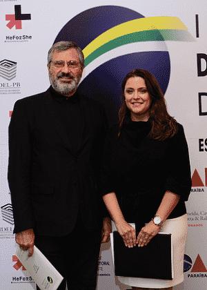 Torquato Jardim e sua chefa de gabinete, Lilian Brandão, são sócios em escritório - Divulgação