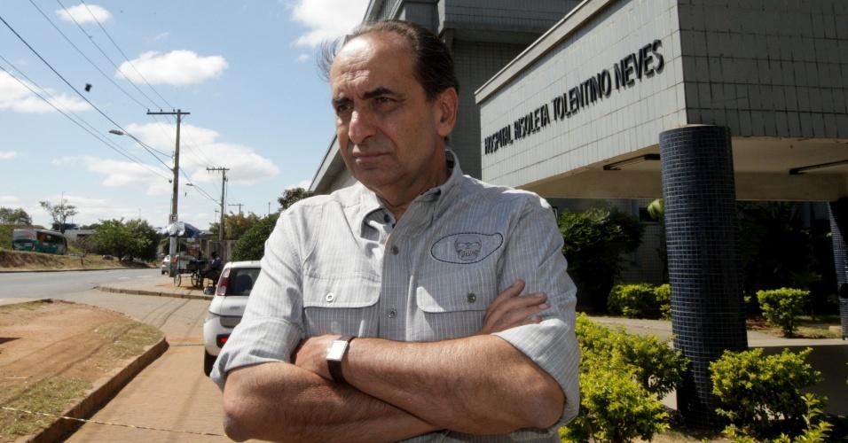 O candidato ? Prefeitura de Belo Horizonte pelo PHS, Alexandre Kalil, visita o Hospital Risoleta Neves, em Belo Horizonte