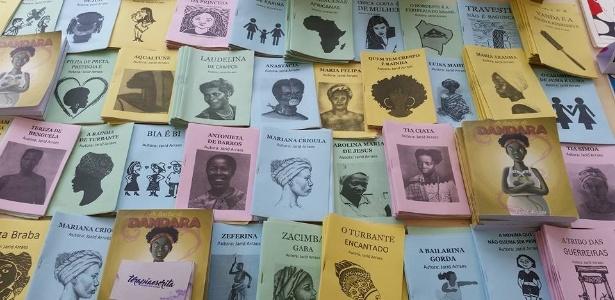 Escritos por Jarid Arraes, os cordéis abordam temas como racismo e feminismo
