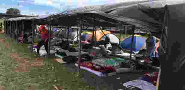 São esperados de 4.500 a 6.000 manifestantes no acampamento.  - Rafael Moro Martins/UOL