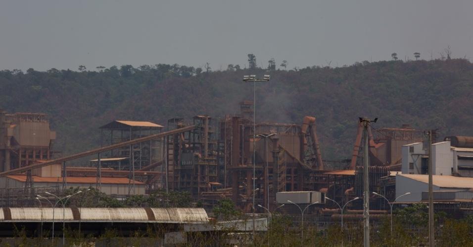 1º.dez.2017 - Onça Puma da mineradora Vale em atividade no Pará