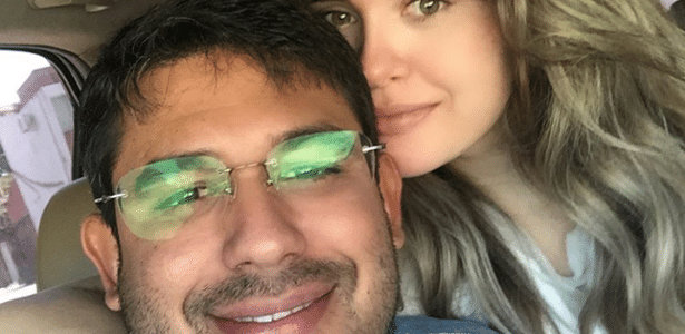 """Lidiane Leite da Silva, conhecida como """"prefeita ostentação"""" de Bom Jardim (MA), posta foto ao lado do marido supostamente na rua, apesar de cumprir prisão domiciliar (06.dez.2017)"""