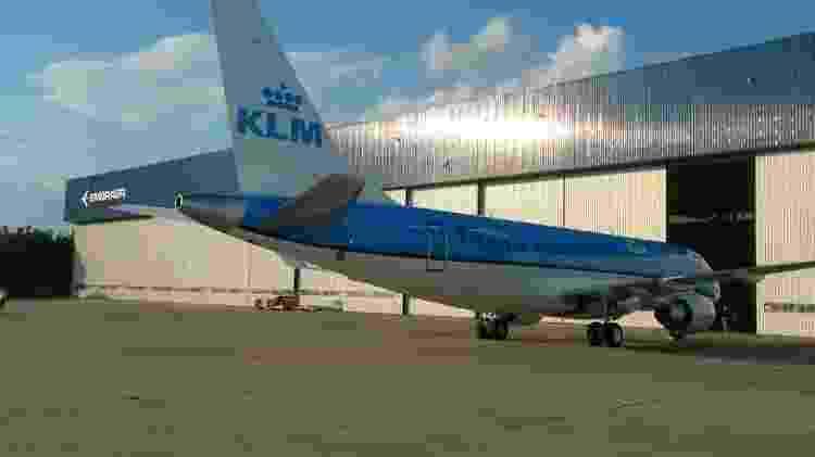 KLM Embraer - Vinícius Casagrande/UOL - Vinícius Casagrande/UOL