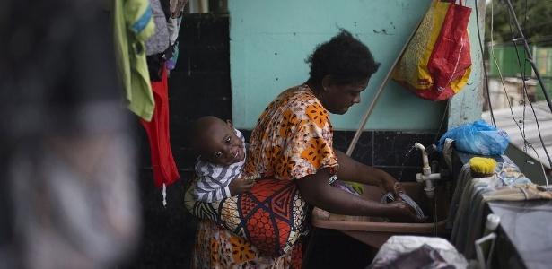 Congoleses enfrentam violência, pobreza e desemprego para recomeçar no Brasil - Fabio Teixeira/BBC News Brasil