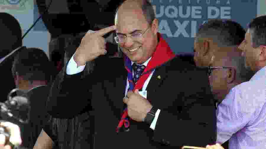 O governador eleito do Rio, Wilson Witzel (PSC), participa de inauguração de colégio da PM - FÁBIO MOTTA/ESTADÃO CONTEÚDO